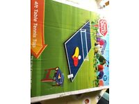 4ft Table tennis top as new