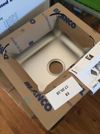 Blanco Toga 45 Stainless Steel Sink 440 x 450 NEW