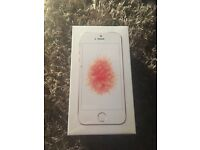Brand new iPhone SE rose gold 16gb