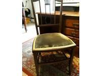 Circa 1940 Oak Desk with Chair