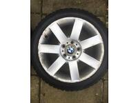 "BMW 4x 17"" Alloys with Hankook Winter Tyres"