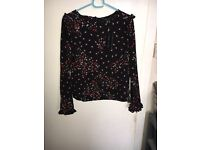 Size 10 new look blouse
