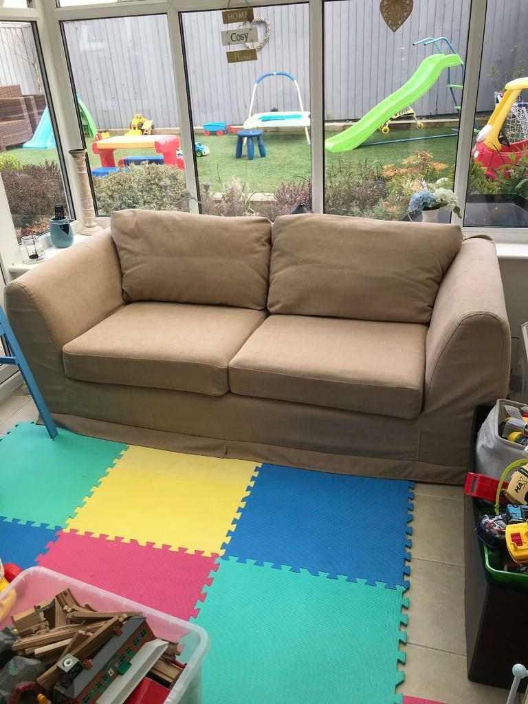 Peachy 2 Seater John Lewis Sofa Bed For Sale In Exeter Devon Gumtree Creativecarmelina Interior Chair Design Creativecarmelinacom