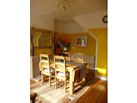 Dining Table and 5 Chairs - pick up from Ewell Village 1st Sept
