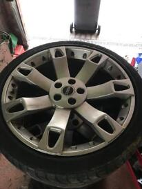 "22"" Range Rover super 7 alloys"