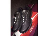 Nike air max 95 ultra Jacquard Tripple Black Mens UK Size 7