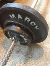 25kg marcy iron weights