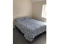 King size Divan Bed and mattress for sale with storage