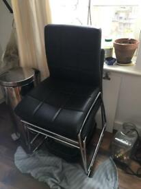 Several items of furniture £1 collection only - Sofa suite and glass tables