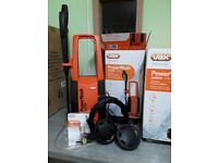 Vax pressure washer, stock clearance; brand new still in box. was £165 now £80.