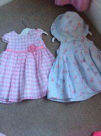 Jasper Conran dresses 6-9 month
