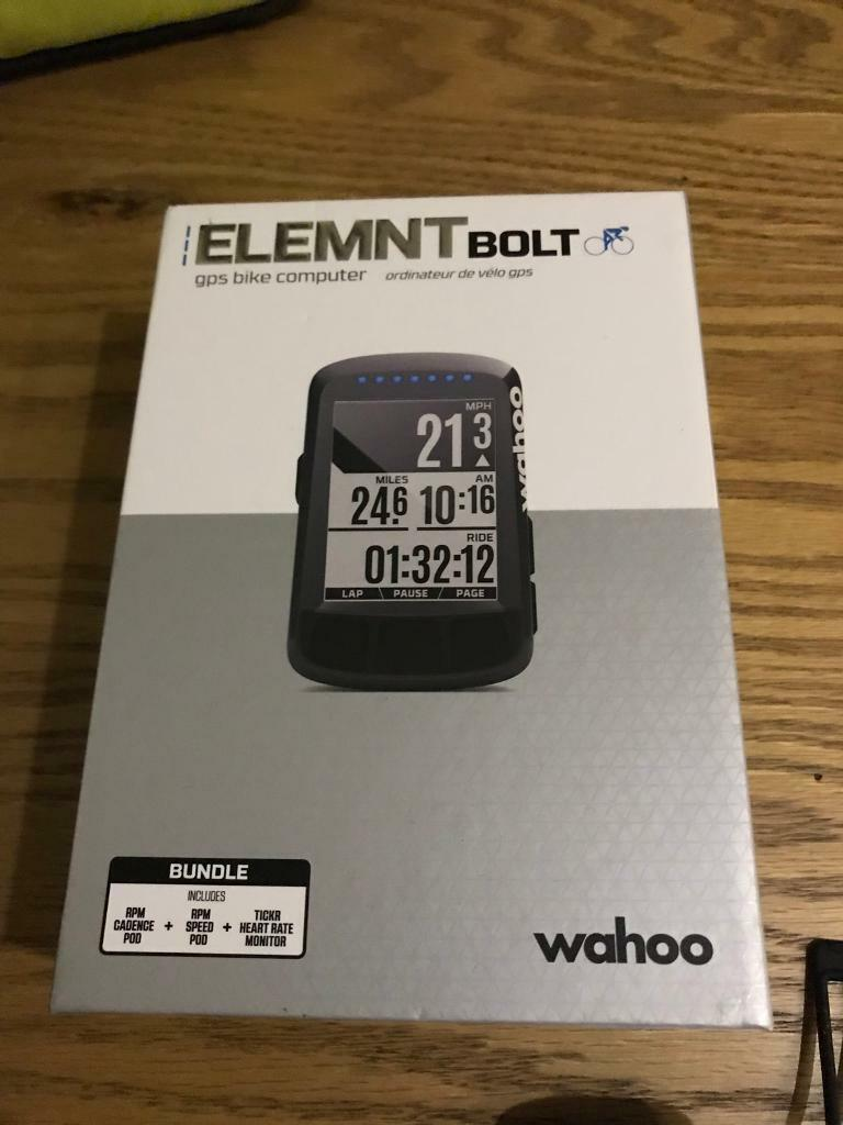 Wahoo ELEMNT BOLT bundle | in Ipswich, Suffolk | Gumtree