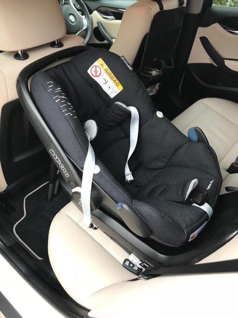 Maxi cosi pebble plus car seat for newborn