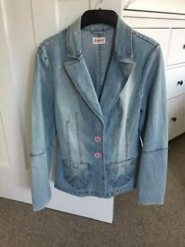 Vintage Moto Topshop Ladies Denim Jacket