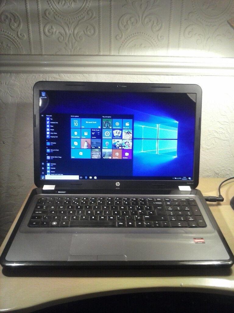 "HP Pavilion g7 500GB SSD 6Gb Ram 17.3"" II P960 Quad Core i5 2.67Ghz Win 10"