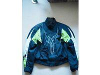 Hein Gericke motorcycle jacket size Large