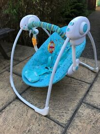 Baby bouncer in clean good condition.