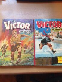 Victor books