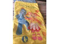 In the night garden child's sleeping bag