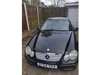 VERY CHEAP!!!!Mercedes C220 Coupe 2005 *****10 MONTHS MOT******great condition!