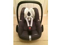 Maxi Cosi Pebble - Black - Group 0 + Suitable from birth