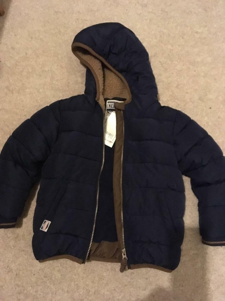 4d88f2dbc Brand new boys Next winter jacket age 3-4