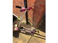 2 x children's scooters