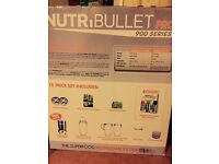 *PRACTICALLY NEW* NutriBullet Pro 900 15pc set, only used once!!!