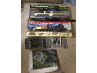 2 train sets with lots if spare track