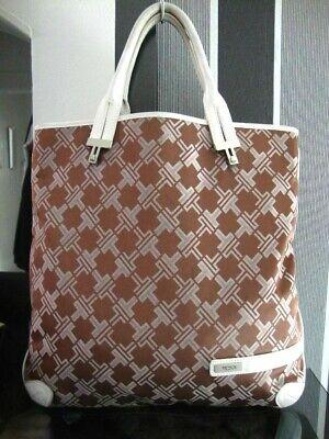 Tumi Leder Tasche (Bildschöne edle Tumi Tasche groß  Shopper Messenger von Tumi Leder Textil top)
