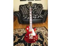 Gibson 2016 T studio, les paul,wine with gold hardware
