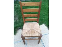 Solid wood chair x4