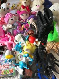 Car boot bundle of toys