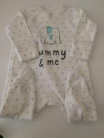 Next Mummy And Me Baby Grow