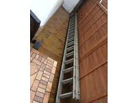 Aluminium Double Run Ladder