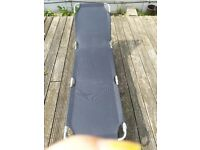 Sun Lounger bought from argos two piece Black or Purple color