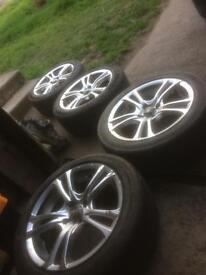 Set of 4 Ace alloys