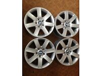 BMW 3 SERIES E 46 E91 SET OF ALLOYS 17""