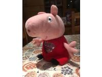 Lullaby Peppa Pig Musical soft toy