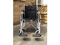 Enigma folding wheelchair