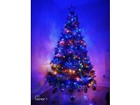 Christmas tree with all decorations