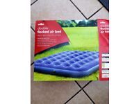 Flocked Air Bed, double. 10£