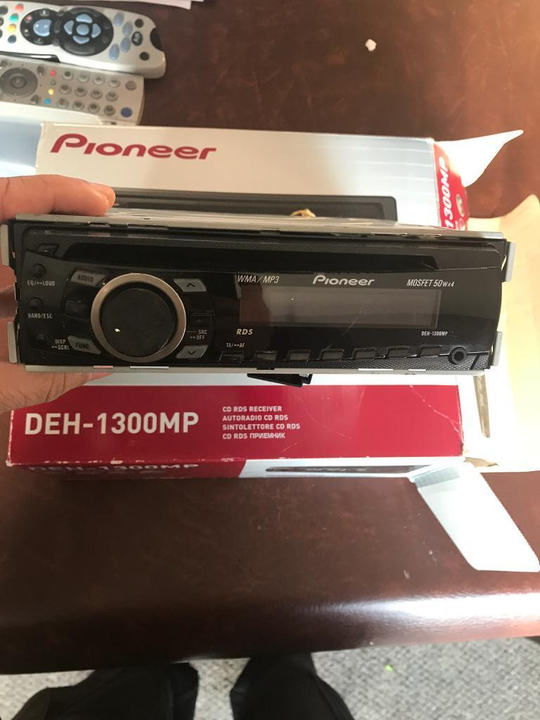 Pioneer Deh 1300mp Steros With Front Aux Port In Harborne West Image 1 Of 2