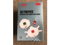 Olympus disposable mounded dust masks