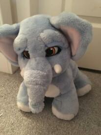 Lolly the Elephant moving kids toy with ball