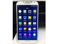Samsung galaxy S4 GT-i9505 Smart Mobile phone unlocked. White 16GB
