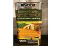 1 Litre Garden Furniture Oil natural finish