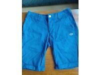 adidas originals denim/chino shorts (s)