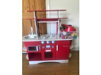Kids toy kitchen w/ accessories