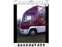 Man7.5 ton Horsebox lorry 24ft long good lady's box